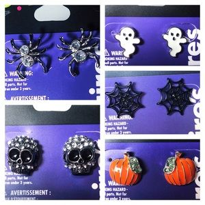 Halloween Stud Earrings for Adults and Kids